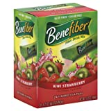 Benefiber Fiber Drink Mix, Kiwi Strawberry 24 - 0.21 oz (6 g) stick packs [5 oz (144 g)]