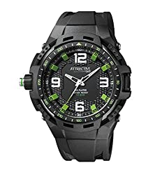 Q&Q Analog Black Dial Mens Watches - DA70J003Y