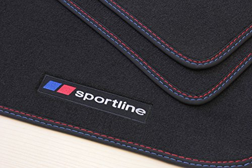 sportline tapis de sol pour bmw s rie 3 e90 e91 ann e 2005 2012. Black Bedroom Furniture Sets. Home Design Ideas