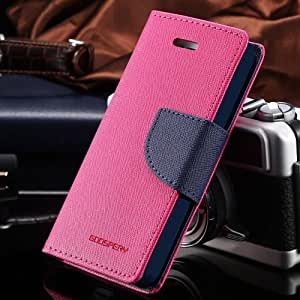 KTS Mercury Goospery Case Fancy Diary Flip Wallet Cover HTC Desire 620 pink