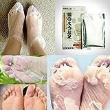 ONE1X Peeling Füße Fuß Maske Fußpflege Erneuerung Fuß- Dead Geknackt