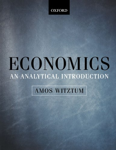 Economics: An Analytical Introduction PDF