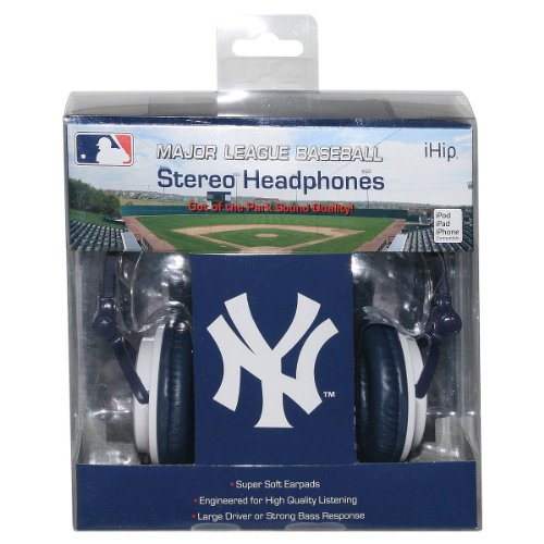 Ihip Slim Dj Headphones - New York Yankees at Amazon.com