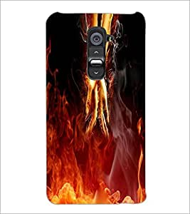PrintDhaba Unique Imgae D-3951 Back Case Cover for LG G2 (Multi-Coloured)