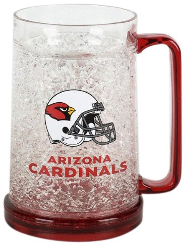 Arizona Cardinals Crystal Mug