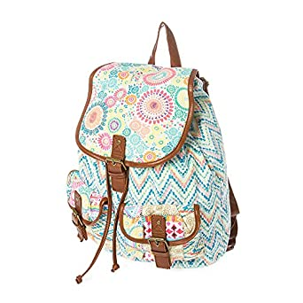 Amazon.com: Claire's Accessories Neon Chevron Print Backpack: Clothing