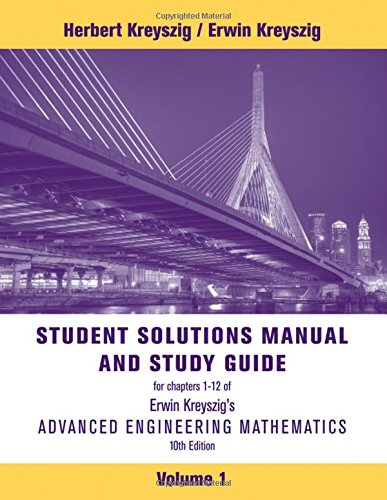 Student Solutions Manual to accompany Advanced Engineering Mathematics, 10e