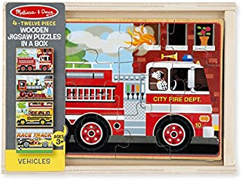 Melissa & Doug 48Pc. 4-in-1 Jigsaw Puzzle