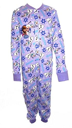 Disney Frozen Big Girl's All in One Sleepsuit