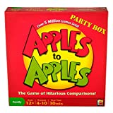 Apples to Apples Party Box - The Game of Crazy Combinations (Family Edition) ~ Mattel