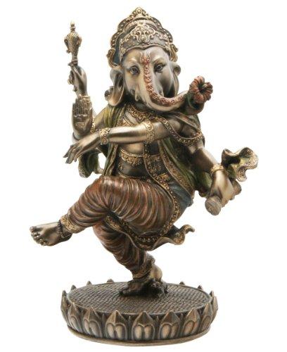 Cast Bronze Dancing Ganesh Statue