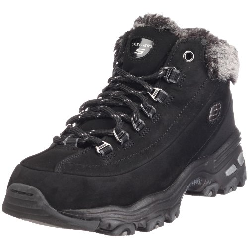 Skechers 99999163 Sport D'Lites Swanky, Women's Winter Boots - Black, 37 EU