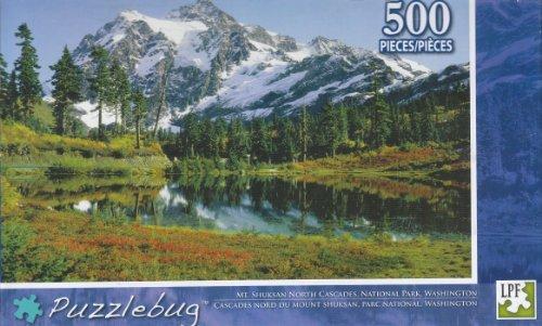 Puzzlebug 500 - Mt. Shuksan North Cascades - 1