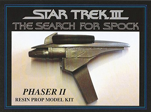 Star Trek III The Search for Spock Phaser Resin Prop Model Kit (Star Trek Resin Models compare prices)