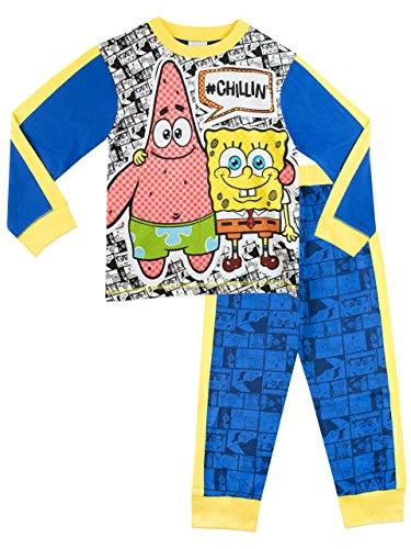 bob-leponge-ensemble-de-pyjamas-spongebob-squarepants-garcon-7-a-8-ans