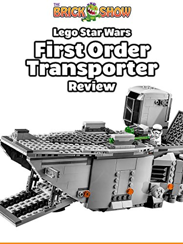 LEGO Star Wars The Force Awakens First Order Transporter Review (75103)