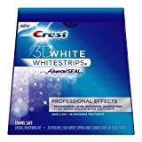 Crest 3D White Whitestrips With Advanced Seal Professional Effects Enamel Safe Dental Whitening Kit, 20-count box