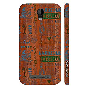 Micromax Bolt Q335 Barbeque Nation designer mobile hard shell case by Enthopia