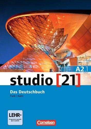 STUDIO 21 A2 BAND 1 LIBRO DE CURSO-CORNE