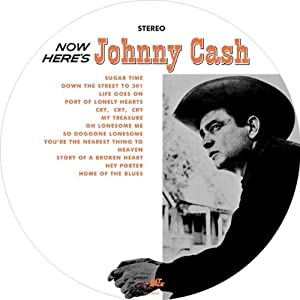 Now Here's Johnny Cash (Picture Disc) [Vinyl]