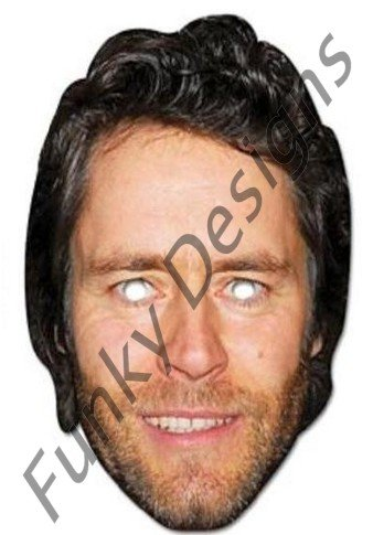 Mask-Arade High Quality Cardboard Howard Donald (Take That) Mask
