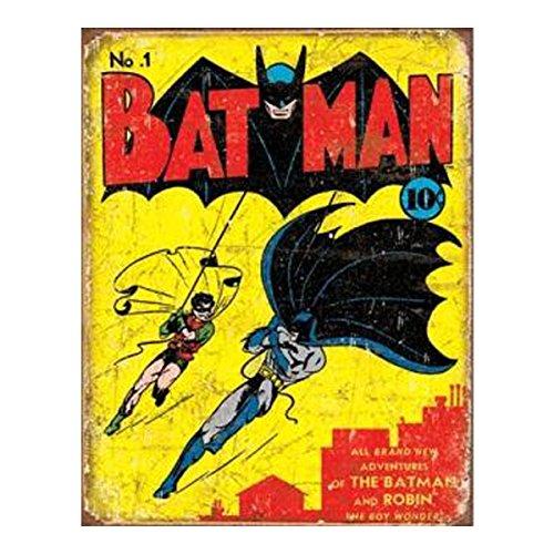 Batman No1 Cover Metal Tin Sign