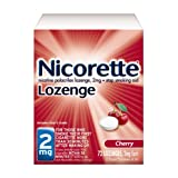 Nicorette Lozenge Cherry - 2 mg, 72-Count ~ Commit Lozenge