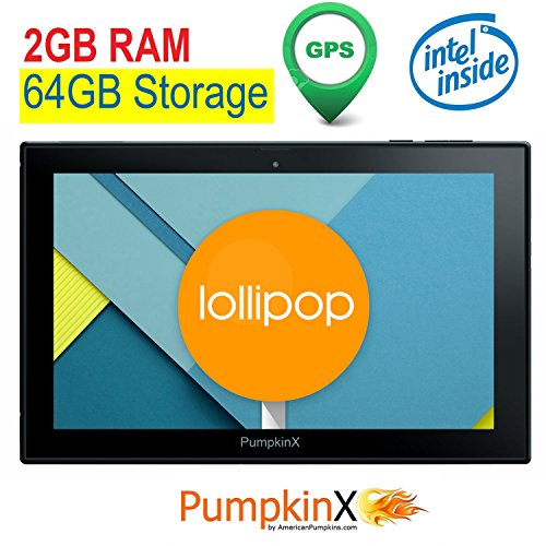 101-inch-2GB-RAM-64GB-Android-51-Lollipop-Intel-QUAD-CORE-Tablet-GPS-IPS-1280x800-Display-HDMI-Bluetooth-40-full-size-USB-WiFi-Play-Store-American-Pumpkins