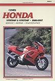 Honda VFR700F-750F, 1986-1997 Clymer Workshop Manual