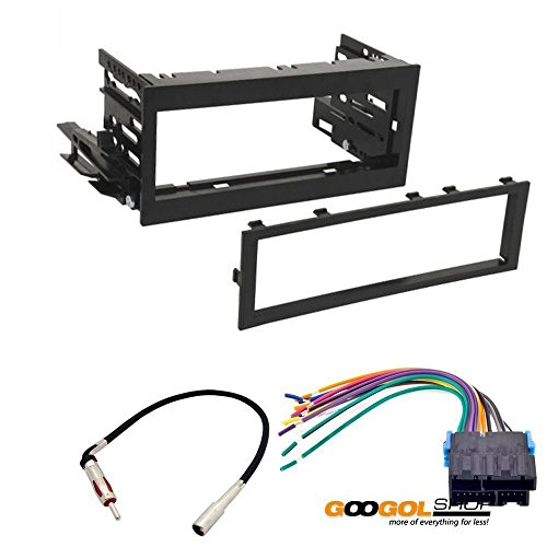 CAR STEREO DASH INSTALL MOUNTING KIT WIRE HARNESS FOR CHEVROLET GMC 1995 - 2005 (Chevy Wire Harness For Car Stereo compare prices)