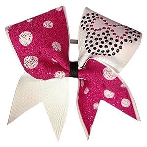 Chosen Bows Minnie Cheer Bow  Pink Cheer Bow