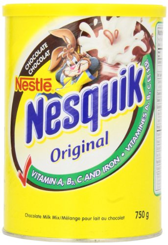 Nesquik Vitamin Enriched Chocolate Powder, 750g Canister