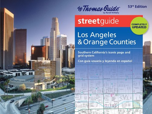 Thomas Guide Atlas Los Angeles/Orange County (Thomas Guide Atlas Los Angeles and Orange County)