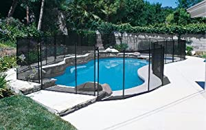 In-Ground Pool Safety Fence - 4ft. x 10 ft. Section
