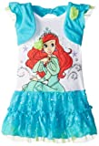 Disney Little Girls' Ariel Knit Dress with Shrug