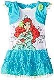 Disney Little Girls' Ariel Knit Dress with Shrug