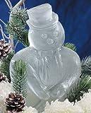 Reusable Snowman Ice Sculpture Mold