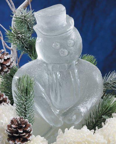 Reusable Snowman Ice Sculpture Mold (Ice Sculptures compare prices)