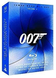 James Bond, L'essentiel volume 1 : James Bond contre Dr. No, Meurs un autre jour, vivre et laisser mourir - Coffret 3 Blu-Ray