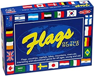 Flags Of The World Educational Game from Tactic Games UK