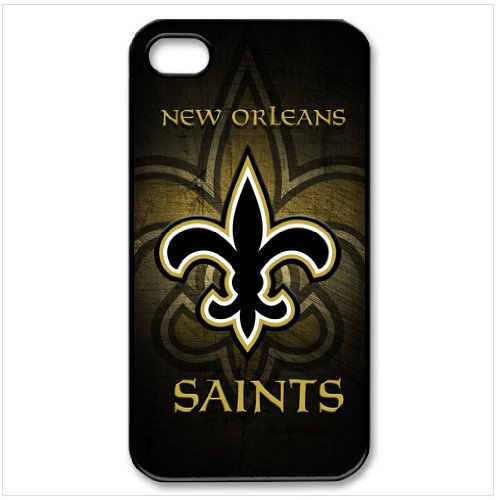 NFL New Orleans Saints Christmas Gift iPhone 4 4S Best Durable Cover Case at Amazon.com