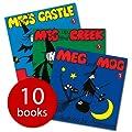Meg and Mog Children Book 10 Book Collection + FREE Ziplock Bag - 10 Books