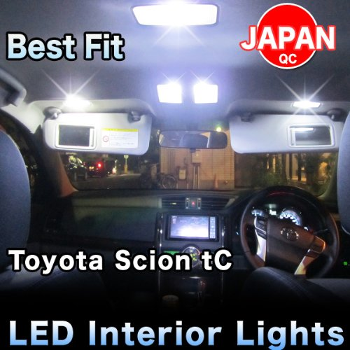 Led Lights Complete Interior Package 5 Pieces - Toyota Scion Tc 2004.5`2010.7