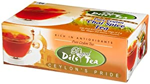 Dils Royal Tea Chai Spice Tea 100-count Foil Envelopes Pack Of 2 from Dil's Royal Tea
