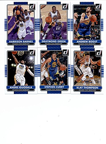 2014/15 Donruss Basketball Team Set (Veterans)- Golden State Warriors (7 Cards)> Klay Thompson,Andre Iguodala,Stephen Curry,Andrew Bogut,Draymond Green,David Lee,Harrison Barnes nikko машина nissan skyline gtr r34 street warriors 1 10 901584 в перми