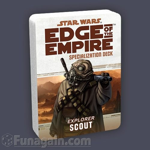 Star Wars: Edge of the Empire Specialization Deck: Scout - 1