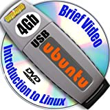 Ubuntu 11.04 on 4gb USB Stick Flash Drive and Complete 2-disks DVD Installation and Reference Set, Ed.2011