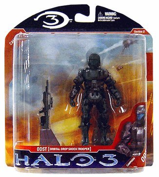 Picture of gkworld Halo 3 Orbital Drop Shock Trooper Action Figure (B001DOWWZS) (Halo Action Figures)