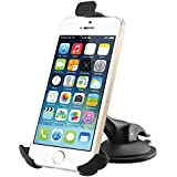 Car Mount, Strongest & Most Reliable Cell Phone Holder on Amazon! Perfectly Fits & Stays Secure Or Your Money Back! iPhone 4S/5/5S/5C, Galaxy S4/S3/S2, HTC One, Quick Release Easy Dashboard Mount! Cradle Smartphone As GPS Car Or Boat! Try It Risk Free!