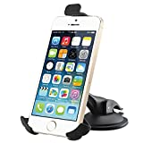 #1 Cell Phone Car Holder Compatible with AT and T Smartphones, Verizon Wireless Phones, Sprint Phones, T-Mobile, Boost, Straight Talk Wireless, and ATT. Secure and Cradle Your Phone Safely While Driving in Car or Working from Desk. Compatible with Models- iPhone 5, iPhone 5s, iPhone 5c, iPhone 6, Samsung Galaxy s3, s4, s5, HTC, HTC One, Nokia Lumia, Motorola Droid, Xperia, LG, Google Smartphones, Windows Phones and More! 30-Day Money Back Guarantee!
